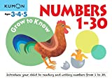Grow to Know: Numbers 1-30 (Grow to Know Workbooks)