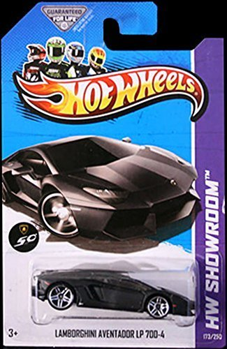 Hot Wheels Hw Showroom Lamborghini Aventador Lp 700 4 Black
