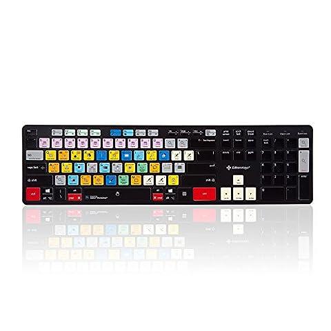 Adobe Photoshop Keyboard - USB Mac and PC (Cc Photoshop)