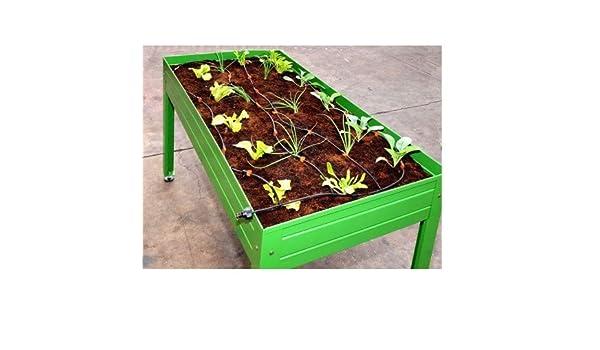 Kit riego para mesa de cultivo huerto urbano: Amazon.es: Jardín