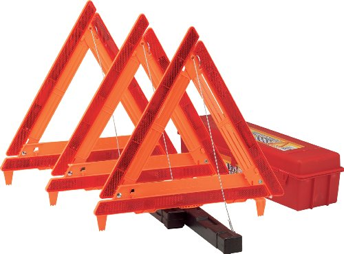 Bell 22-5-00231-8 Emergency Triangle, (Set of 3) (Highway Emergency Set)