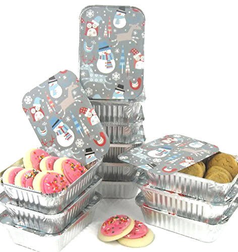 Cookie Exchange Party (Snowman Holiday Foil Containers With)