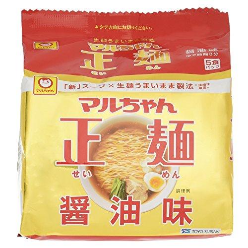 Maruchan - Seimen Japanese Instant Ramen Noodles Soy Sauce Taste 18.5oz (For 5 Bowls)