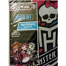 """Monster High Room Darkening Blackout Drape (1 Panel) 42"""" x 63"""""""