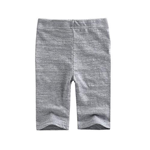Agibaby Boys and Girls Capri leggings (S(12-24months), Gray)