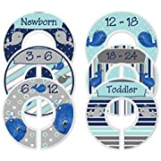 Mumsy Goose Baby Closet Dividers Nursery Closet Dividers Closet Organizers Whales