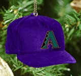 MLB Arizona Diamondbacks Baseball Cap Ornament