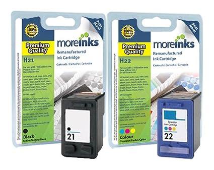 2 cartuchos de tinta para impresora HP Deskjet D1560, color ...