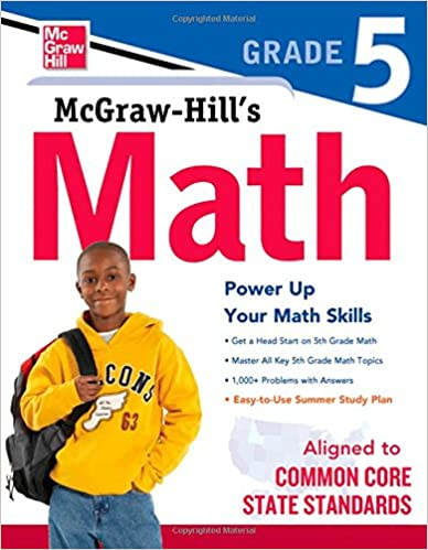 Math Worksheets common core 4th grade math worksheets : McGraw-Hill's Math, Grade 5 (Study Guide): McGraw-Hill Education ...