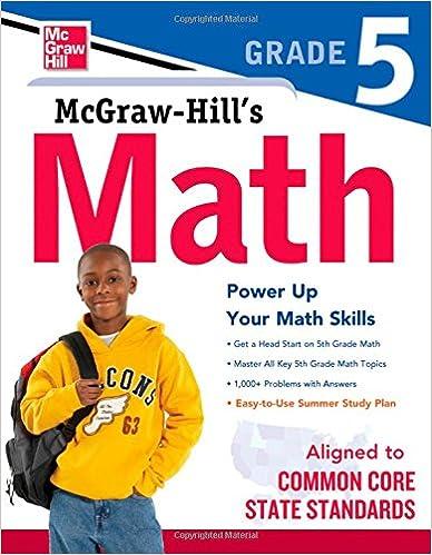 McGraw-Hill's Math, Grade 5 (Study Guide): McGraw-Hill Education ...