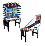 Medal Sports 48 12 in 1 Multi Game Table