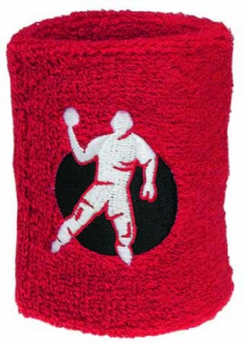 Kempa Wrist Band 9 cm (6 Pairs) rouge, Größe Kempa UK:NOSIZE