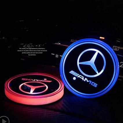 Amazon Com Yuanxi Electronics Car Logo Led Cup Pad Led Cup For