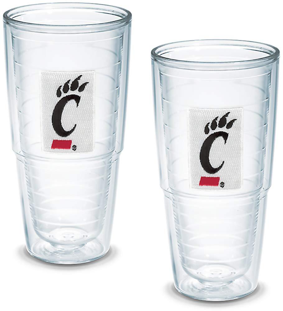 Tervis Tumbler Cincinnati Bearcats 24 oz Big T 2-Pack Set of 2 Tervis Tumbler Company 1006194 5311930