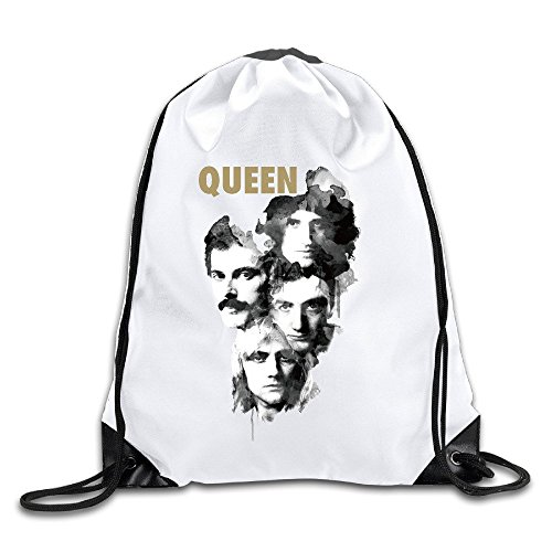 Queen Sports Drawstring Backpack For Men & Women