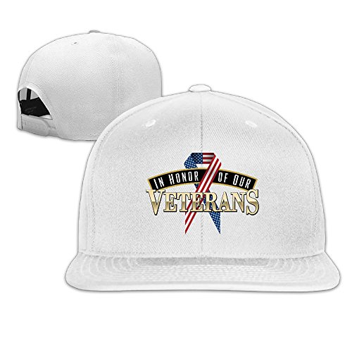 In-Honor-Of-Our-Veterans Snapback Flat Baseball Fit Cap - In Albany Malls