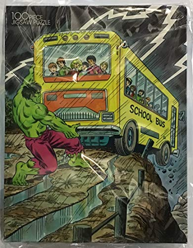 The Incredible Hulk 1988 Vintage 100 Piece Puzzle By -
