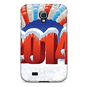 High Quality Dana Lindsey Mendez New Year 2014 Skin Case Cover Specially Designed For Galaxy - S4