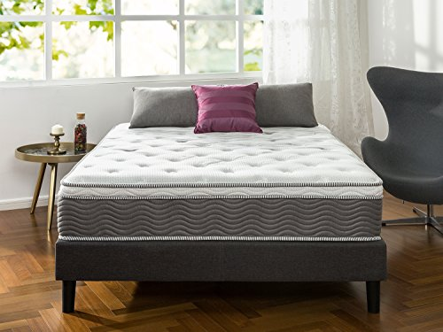Zinus 12 Inch Performance Plus   Extra Firm Spring Mattress  Queen