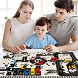 KOKOBUY Kids Traffic Road Play Mat Portable Car Urban Scene Game Mat Educational Toy,1Pcs