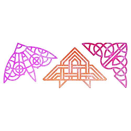 Cheery Lynn Designs B174 Lace Corner Deco Die Set - Die Corner