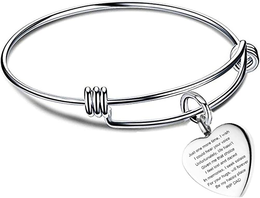 stainless urn memorial leather bracelet personalized keepsake loss ash holder Custom heart urn bracelet mom dad urn cremation jewelry