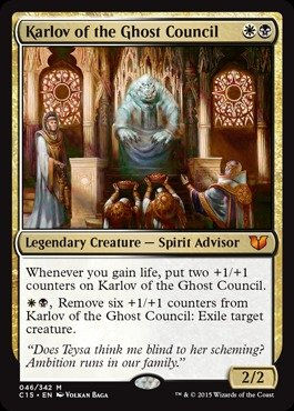 Magic: the Gathering - Karlov of the Ghost Council (046/342) - Commander 2015