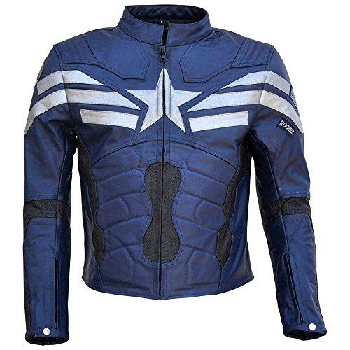 leather captain america jacket - 6