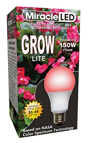 Miracle LED 604586 Ultra Grow Red Spectrum LED Grow Light Replaces 150W