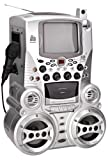 Singing Machine STVG-718 CD+G Karaoke System with Monitor and Cassette