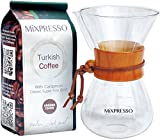 Chemex Style Pour Over Coffee Maker by Mixpresso - Large (20 Ounces)