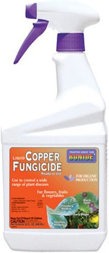 BONIDE PRODUCTS 775 Ready-to-Use Copper Fungicide, 32-Ounce [2-Pack]