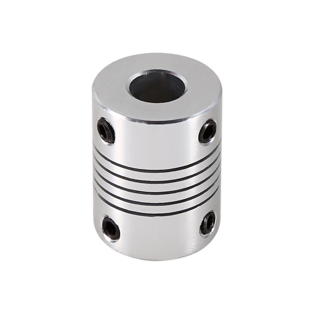 Aluminum Coupling Shaft Connect For Stepper Motor Flexible Clamp Plum Shaped Elastic Coupling Coupler 6/×8mm Plum Coupling Shaft