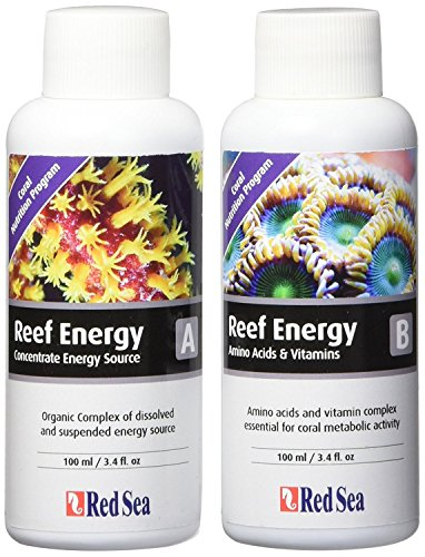 100Ml, Reef Energy a & B Supplements, 2-Pack