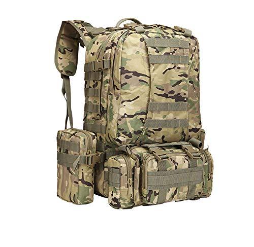 camuflaje viaje CP militar Montañismo capacidad gran mochila camping de de multifuncional táctico Cp mochila combinación qAwxa4AS