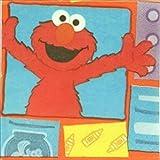Sesame Street Elmo 'Elmo Loves You' Small Napkins (16ct)