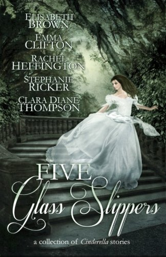 Five Glass Slippers (Black Fairy Tale Characters)