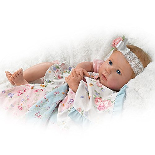 Ashton Drake Lifelike Baby Doll By Linda Murray With Quilt And Basket by The Ashton-Drake Galleries (Image #2)