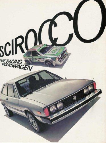 (1977 VOLKSWAGEN SCIROCCO COUPE COLOR SALES BROCHURE - 33-53-76020 - USA - EXCELLENT FACTORY ORIGINAL)