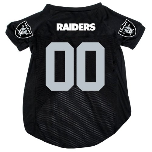 Hunter Mfg. LLP NFL Oakland Raiders Pet Jersey with Patch, Small, Team Color]()