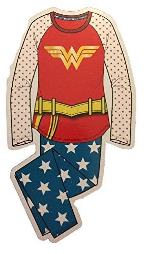 Wonder Woman Justice League Girls Flannel Pajama Set (7/8)