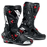 SIDI VORTICE AIR MOTORCYCLE BOOTS (BLACK, SIZE 11.5 / 46)
