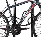 Schwinn Cable Bike Lock, Key Lock, 6-Feet x 8mm