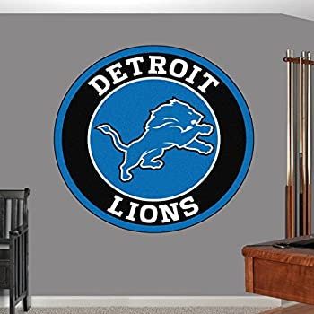 Detroit Lions sticker, Detroit Lions decal, Lions decal, Detroit Lions sticker, Detroit Lions home decor, Lions car sticker, NFL Detroit Lions ticker, NFL decal, Detroit Lions wall decal f36 (5x5)