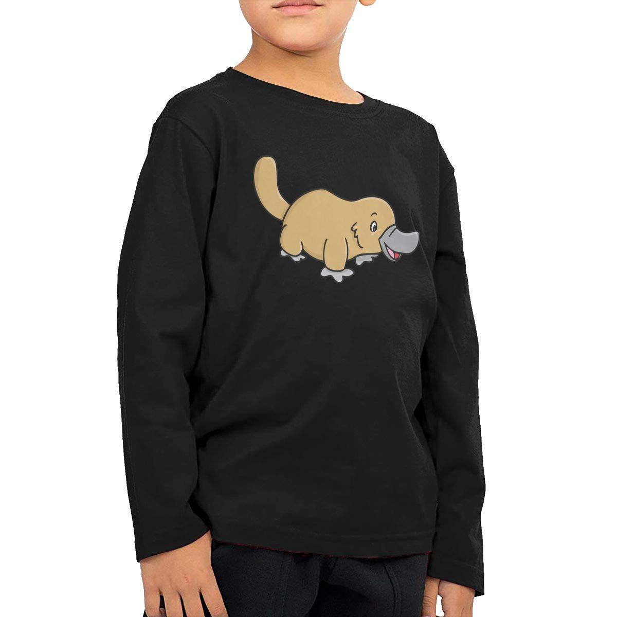 Toddler Platypus Duckbill ComfortSoft Long Sleeve Tee