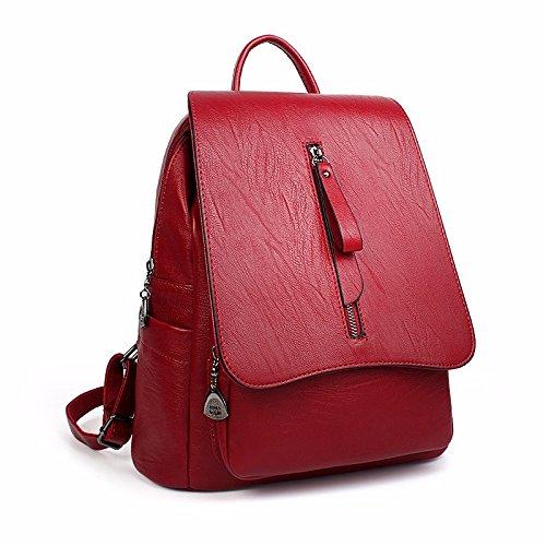 eine neue retro - alle frauen mit mini - freizeit - rucksack,rotwein rotwein