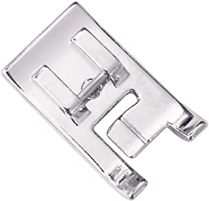 YEQIN 7mm Double Piping Presser Foot SA192 F067 for All Low Shank Singer, Brother,Babylock, Janome, White, Juki, Janome, New Home, Simplicity, Elna Sewing Machine