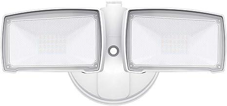 IP65 Waterproof 5500K Daylight 28W LED Security Lights LEPOWER 2500LM Outdoor Motion Sensor Lights Front Door Yard Adjustable Dual-Head Flood Lights for Entryways