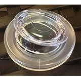 "USA Premium Store 2"" Umbrella Hole Ring Plug For Glass Patio Table QTY- 2 SETS"