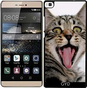 Funda para Huawei Ascend P8 - Gritando Gato by Grab My Art
